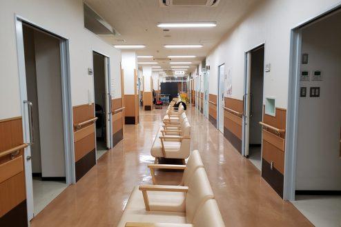 2.旧病院|待合ロビー