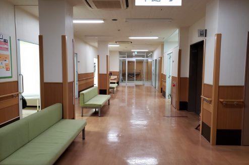 13.旧病院|待合ロビー