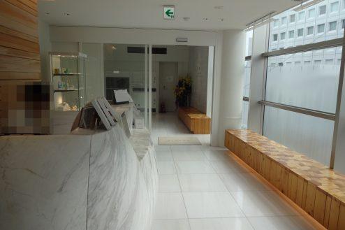 10.クオーツタワークリニック5階|受付・入口