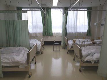 旧病院|平日・病室・ナースステーション・診察室・待合ロビー・廊下・救急搬入口