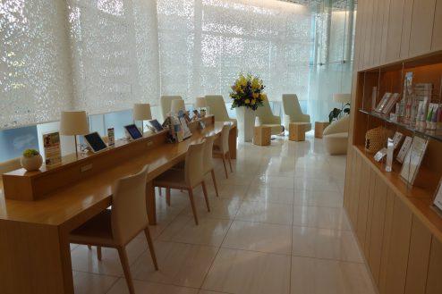 15.クオーツタワークリニック4階|通路・待合いスペース