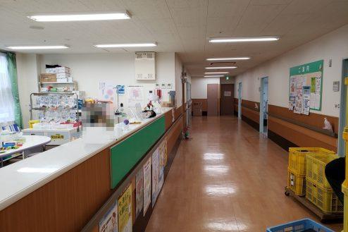 1.旧病院|病室前廊下・ナースステーション