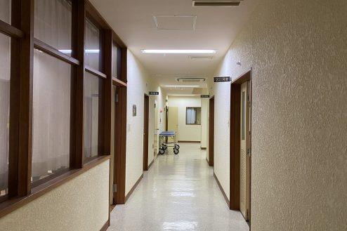 12.佐藤病院スタジオ|廊下