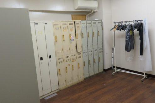15.森下倉庫|内部・更衣室
