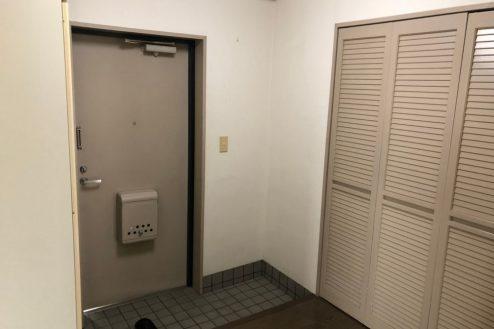 10.府中マンション|603号室・玄関