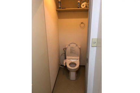 9.府中マンション|603号室・トイレ