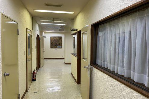 13.佐藤病院スタジオ|廊下