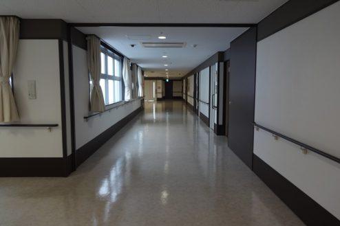 6.かつしか介護老人施設|病室前廊下