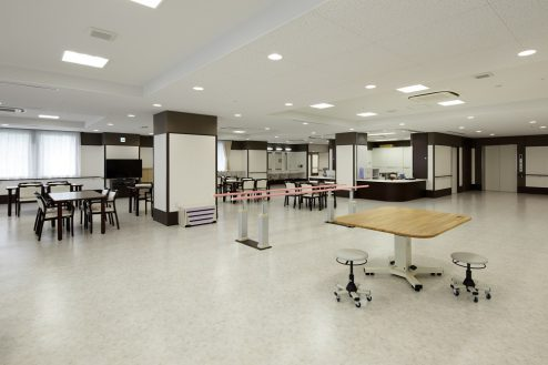 10.かつしか介護老人施設|リハビリ・機能訓練室