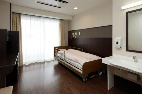 かつしか介護老人施設|病室・病院・診察室・リハビリ・玄関・屋上・平日|東京