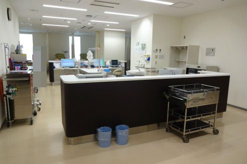 港区病院|診察室・待合室・ロビー・ナースステーション・廊下・玄関|東京