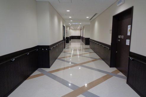 14.横浜リハビリ病院|廊下