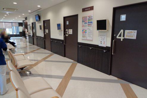 5.横浜リハビリ病院|待合室
