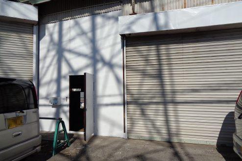 19.東京近郊の廃工場 倉庫・ドア