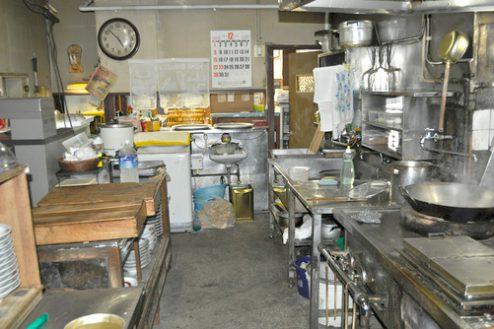 5.昔ながらの中華食堂|厨房