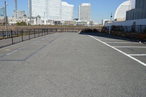 1.タイムズみなとみらい第2駐車場|駐車場内
