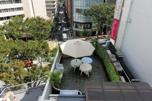 10.高商ビル各スタジオ|屋上