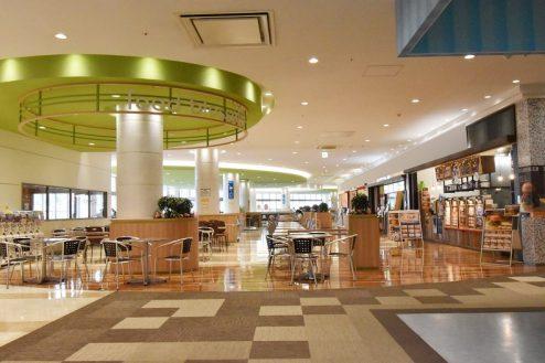 8.ショッピングモール|モール内・フードコート