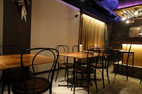4.六本木フレンチレストラン|店内