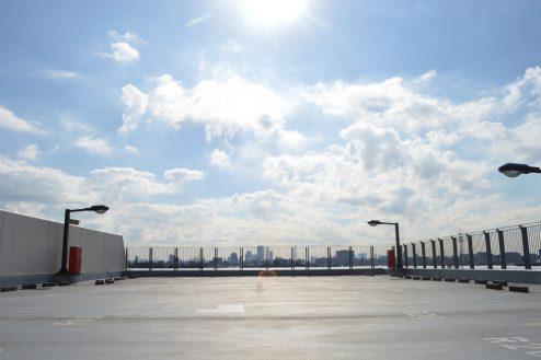 7.赤羽駅西口駐車場|屋上駐車場
