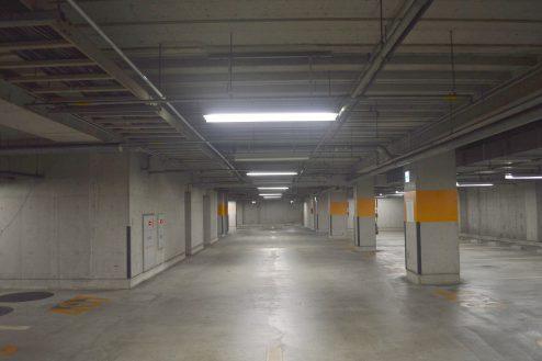 3.タイムズ東京ドーム地下駐車場|駐車場内