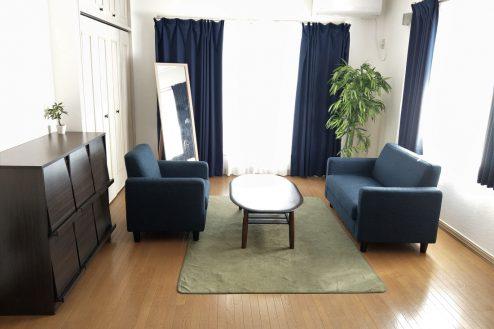 3.スタジオ和洋空間 一軒家|2階・リビングルーム・男性部屋