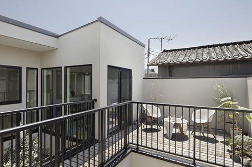7.スタジオメゾン世田谷K邸|バルコニー