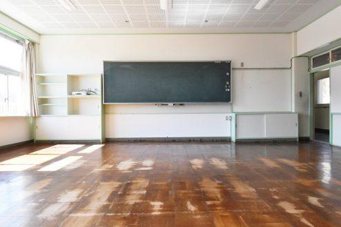 1.旧久住第二小学校|教室