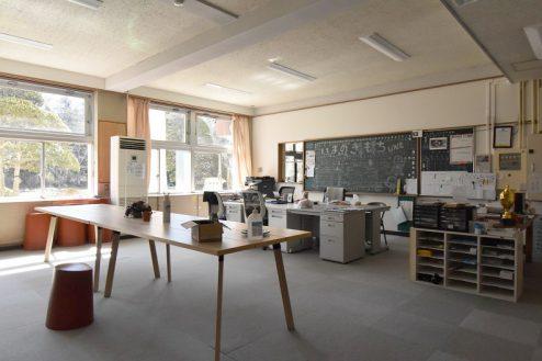 6.旧久住第二小学校|職員室
