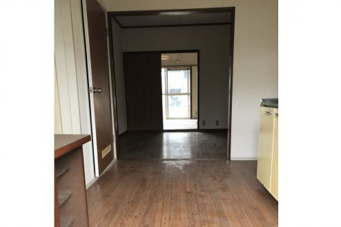 4.府中アパート|キッチン・洋室