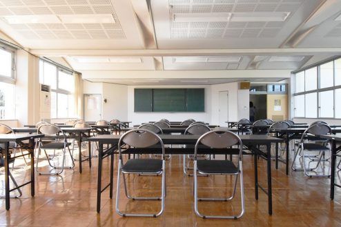 8.旧久住第二小学校|会議室