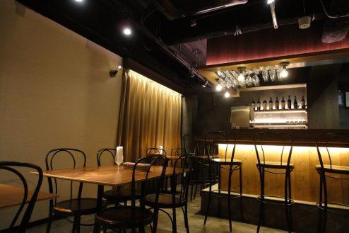 1.六本木フレンチレストラン|店内
