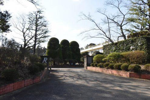 29.旧久住第二小学校|外観・正門