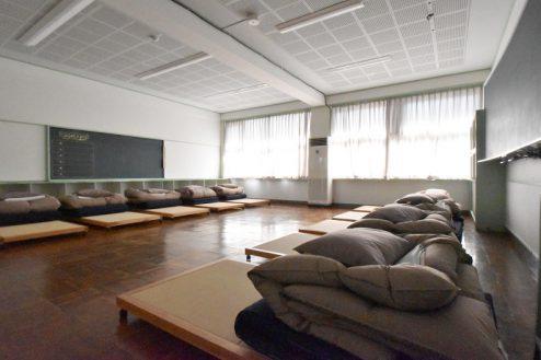 10.旧久住第二小学校|宿泊室