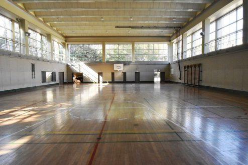 12.旧久住第二小学校|体育館