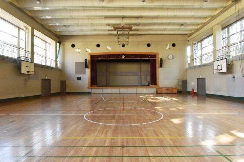 11.旧久住第二小学校|体育館