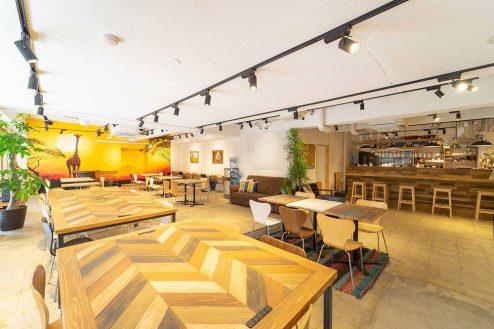 上野オフィス|カフェ・カウンターキッチン・スタジオ・イベント|東京