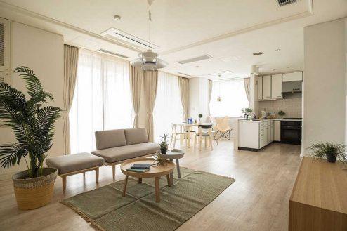 紀尾井町マンションスタジオ|ハウススタジオ・リビングダイニング・和室・洋室・テラス・縁側|東京