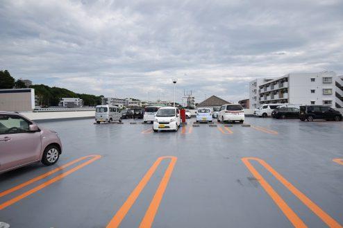 2.スーパーA|屋上駐車場