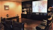 ジャスマック八雲【書斎付きAVルーム】|社長室・重役室・書籍棚・家具・高級住宅・貸切り|東京