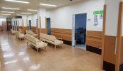 病院3棟貸しスタジオ|病室・診察室・ナースステーション・待合ロビー・廊下・救急搬入口・玄関・平日