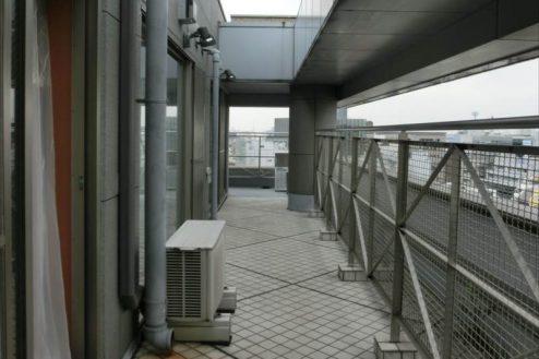 26.新宿2丁目マンションスタジオ|ベランダ