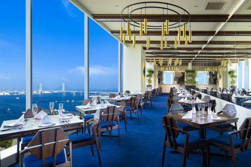 みなとみらいレストラン|ダイニング・バーカウンター・ベイブリッジ・貸切り・海・絶景