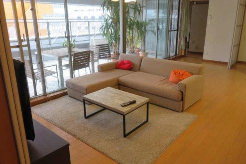 2.新宿2丁目マンションスタジオ|リビング・ダイニング・キッチン