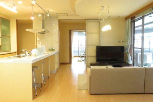 4.新宿2丁目マンションスタジオ|リビング・ダイニング・キッチン