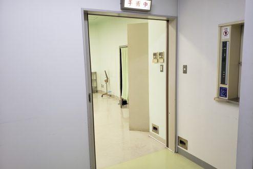 5.病院1棟貸しスタジオ|手術室