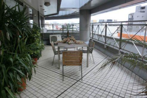 28.新宿2丁目マンションスタジオ|バルコニー