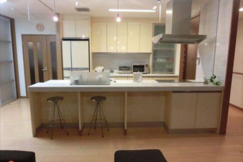 5.新宿2丁目マンションスタジオ|対面式キッチン