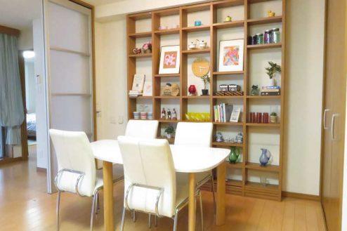6.新宿2丁目マンションスタジオ|リビング・ダイニング・キッチン