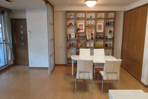 7.新宿2丁目マンションスタジオ|リビング・ダイニング・キッチン